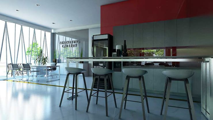 Design Interior Marketing Gallery:  Kitchen by Roemah Cantik