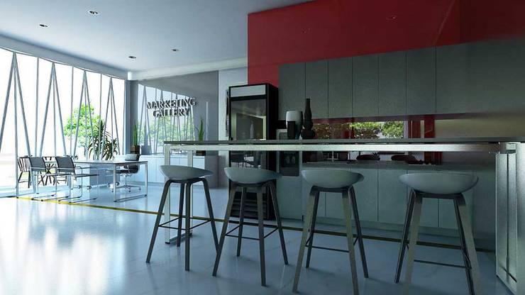 Design Interior Marketing Gallery:  Kitchen by Roemah Cantik