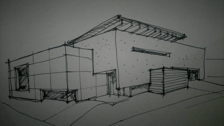 Casa en 7 Soles: Casas de estilo  por muñoz bunteh arquitectos