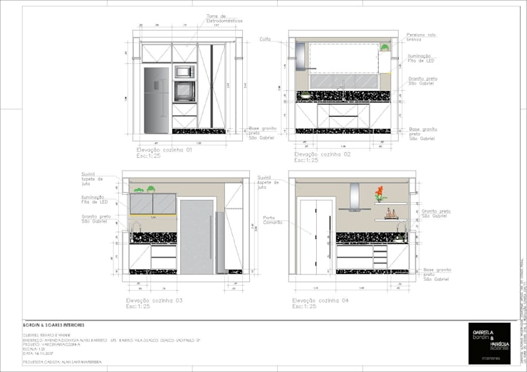 par A S Studio Criativo 3D - Soluções Inteligentes em projetos técnicos Moderne