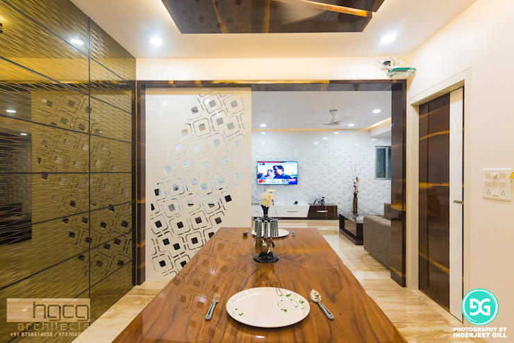 Dining room by HGCG Architects