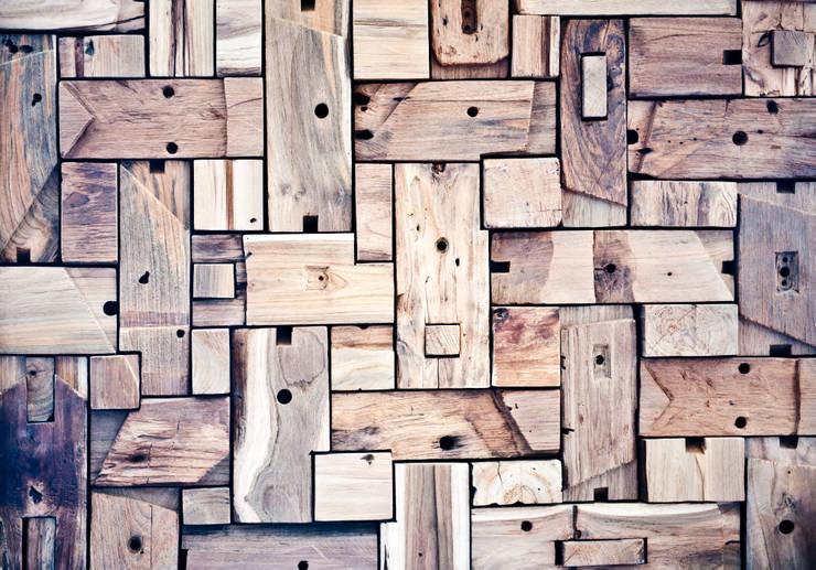 Pasillos, vestíbulos y escaleras de estilo moderno de Gianluca Bugeia ARCHITETTO Moderno Madera Acabado en madera