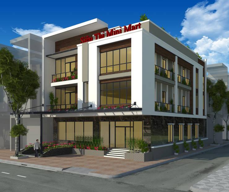 Nhà ở kết hợp siêu thị:  Nhà by công ty cổ phần kiến trúc và nội thất adhome