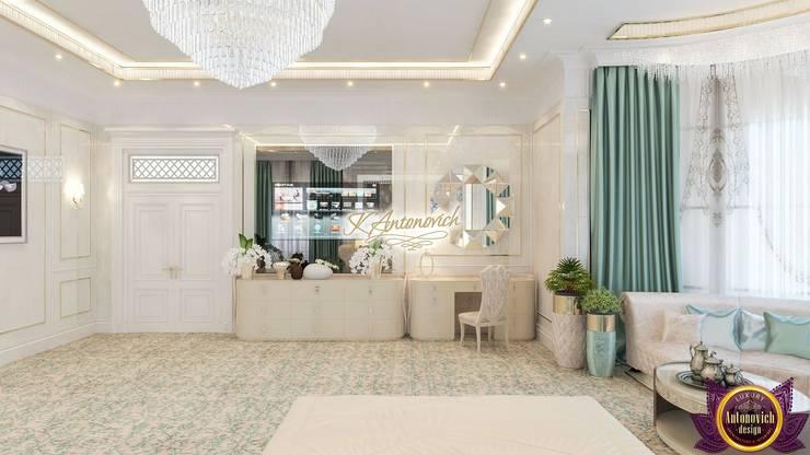 Interior design house ideas by Katrina Antonovich Modern style bedroom by Luxury Antonovich Design Modern