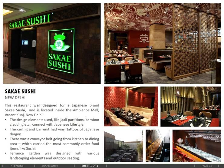 SAKAE SUSHI, New Delhi:  Bars & clubs by amitmurao.com,Asian