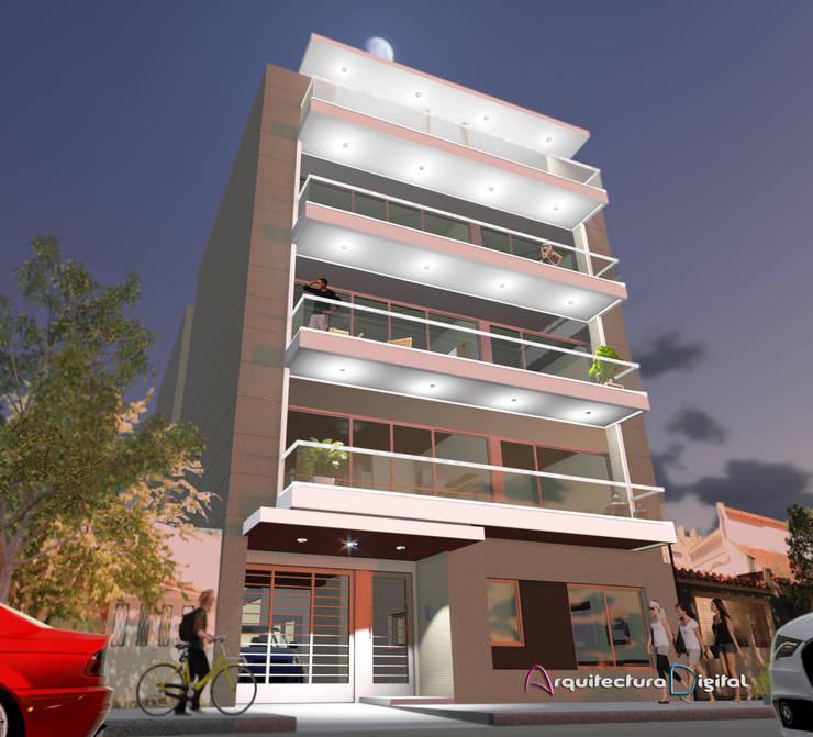 Edificio Vinicius:  de estilo  por Arquitectura Digital Renderizados,