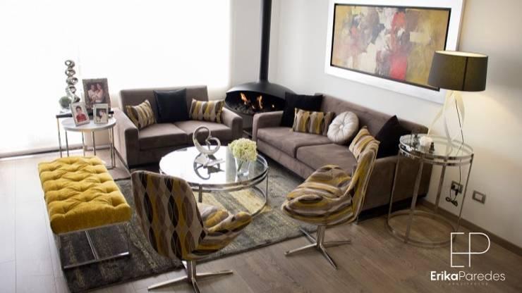 Sala: Salas / recibidores de estilo moderno por EPG  Studio