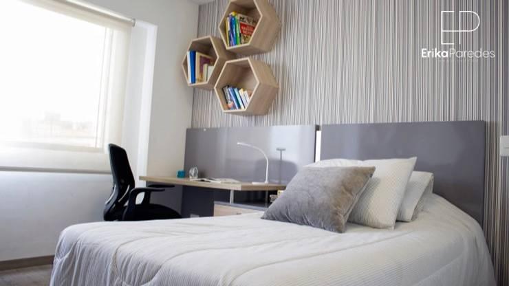 Dormitorio Juvenil: Dormitorios de estilo  por EPG  Studio