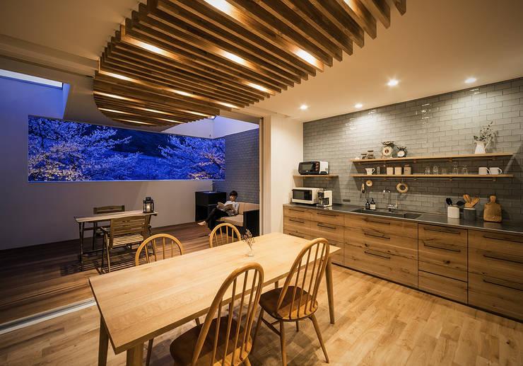 Phòng khách by 株式会社seki.design