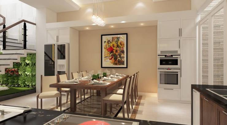 Hình ảnh 3D thiết kế nội thất :  Phòng ăn by Công ty TNHH Xây Dựng TM – DV Song Phát