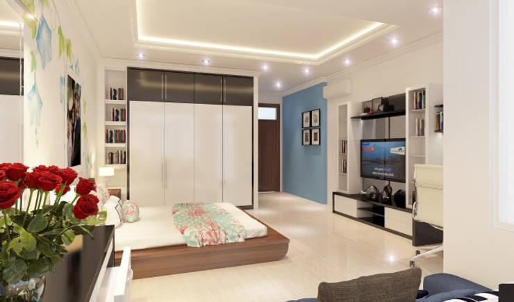Hình ảnh 3D thiết kế nội thất :  Phòng ngủ by Công ty TNHH Xây Dựng TM – DV Song Phát