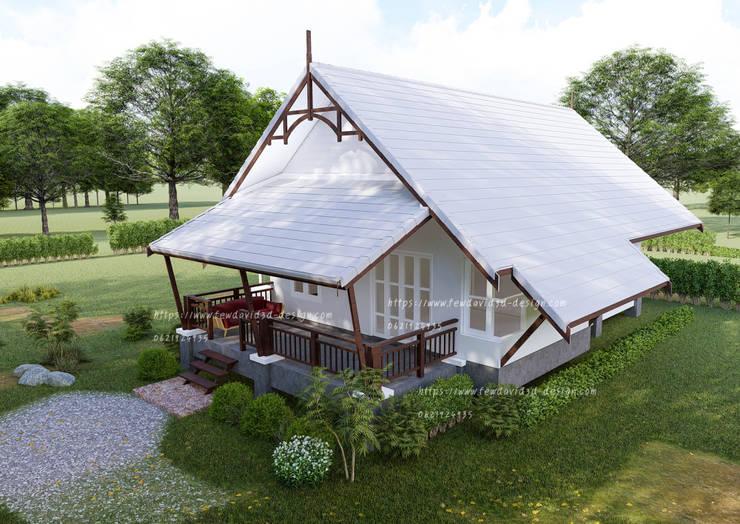 บ้านชั้นเดียว 78ตร.ม.:   by fewdavid3d-design