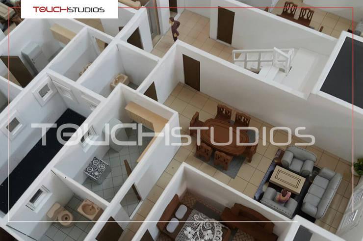 مجسمات معمارية لمشاريع مختلفة:   تنفيذ Touch-studios