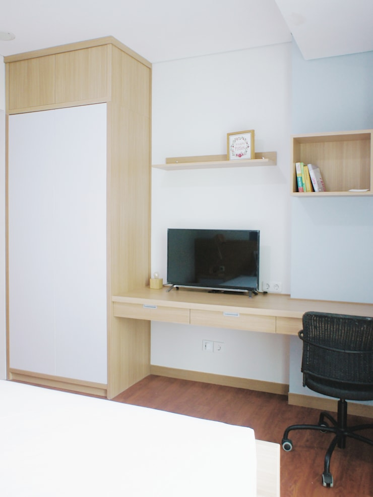 WPK Apartment:  Kamar Tidur by byatelier
