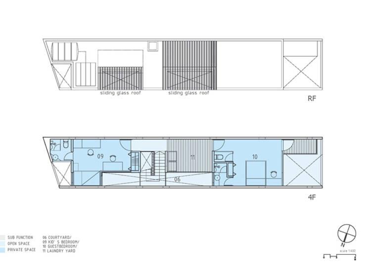 Bản vẽ thiết kế mặt bằng ngôi nhà:  Nhà gia đình by Công ty TNHH Xây Dựng TM – DV Song Phát