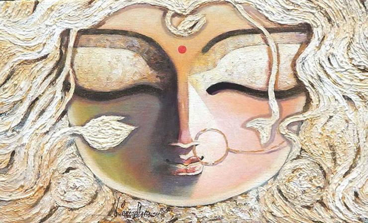 Braahmi:  Artwork by Indian Art Ideas