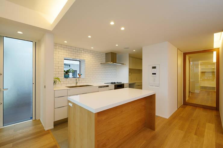 廚房 by スタジオグラッペリ 1級建築士事務所 / studio grappelli architecture office