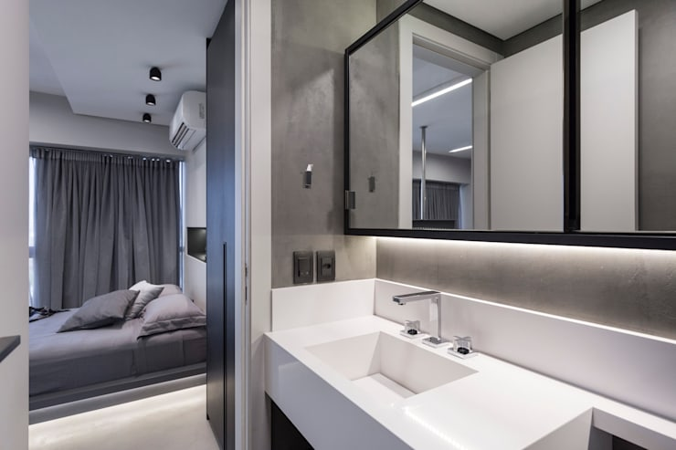 浴室 by ABHP ARQUITETURA
