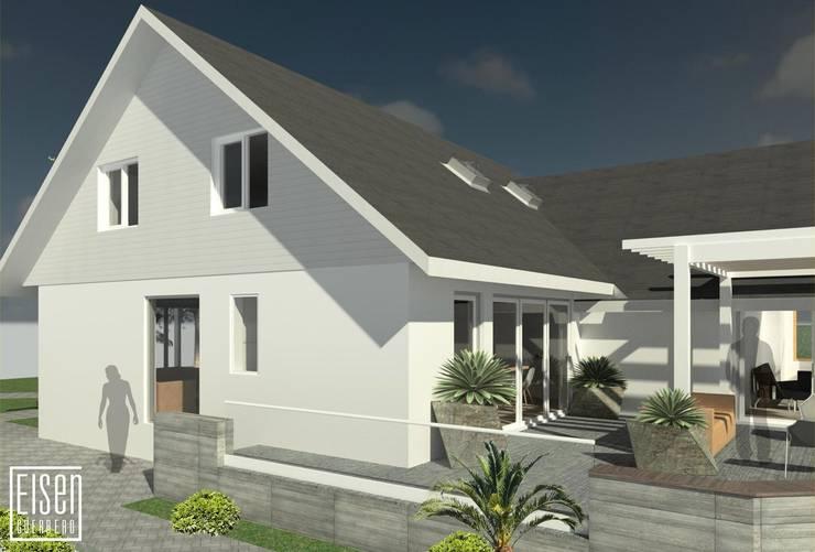REMODELACIÓN DE VIVIENDA GMS. FL. Miami. USA.: Casas de estilo  por Eisen Arquitecto