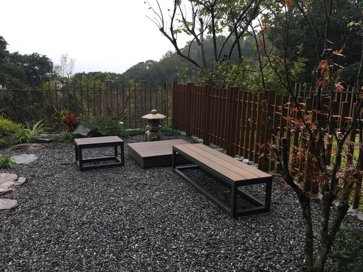 完工後:  庭院 by 大地工房景觀公司