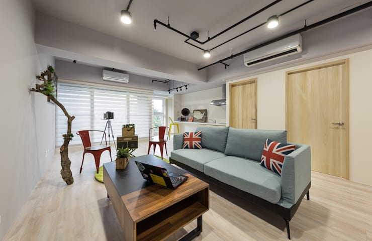 共享歡笑與淚水:  商業空間 by 趙玲室內設計