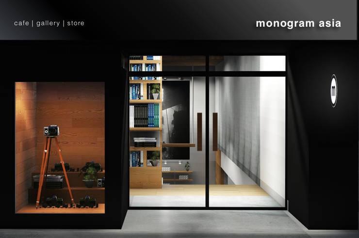 Facade:  Kantor & toko by ARAT Design