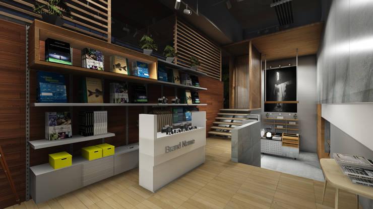 Drew & Berry Area II:  Kantor & toko by ARAT Design