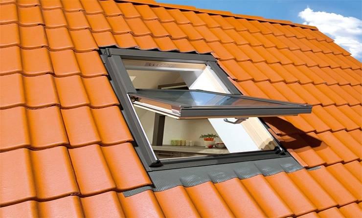 Katlanır Çatı Merdivenleri – FAKRO STANDART ÇATI PENCERELERİ :  tarz Pencere & Kapılar
