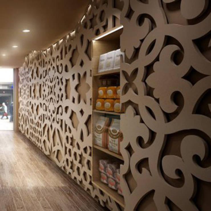 Wandrooster Dubai:  Kantoren & winkels door Deco Wall