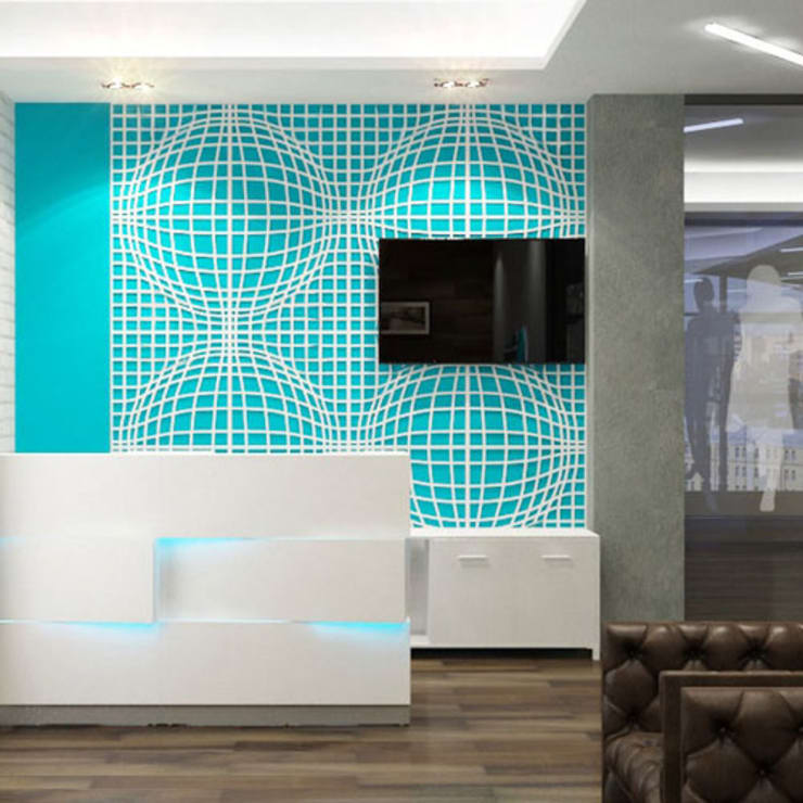 Wandrooster Vision:  Spa door Deco Wall