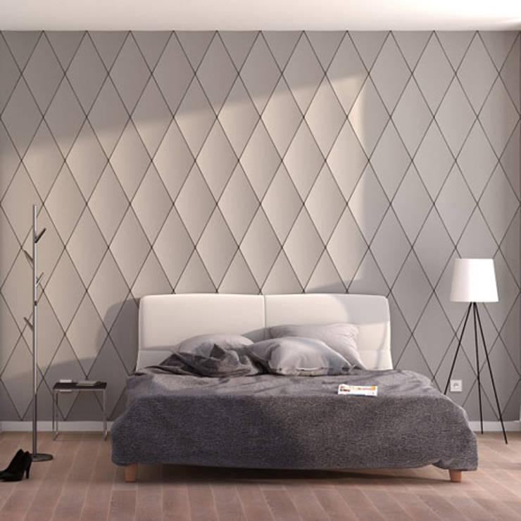 3D wandpanelen :  Slaapkamer door Deco Wall