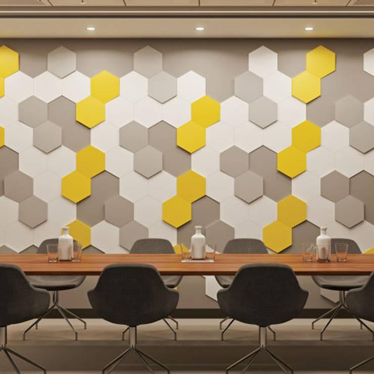 3D wandpanelen :  Gang, hal & trappenhuis door Deco Wall