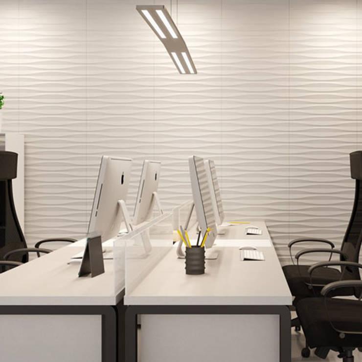 3D wandpanelen:  Huishouden door Deco Wall