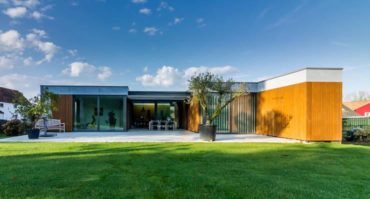 achtergevel:  Eengezinswoning door 3d Visie architecten
