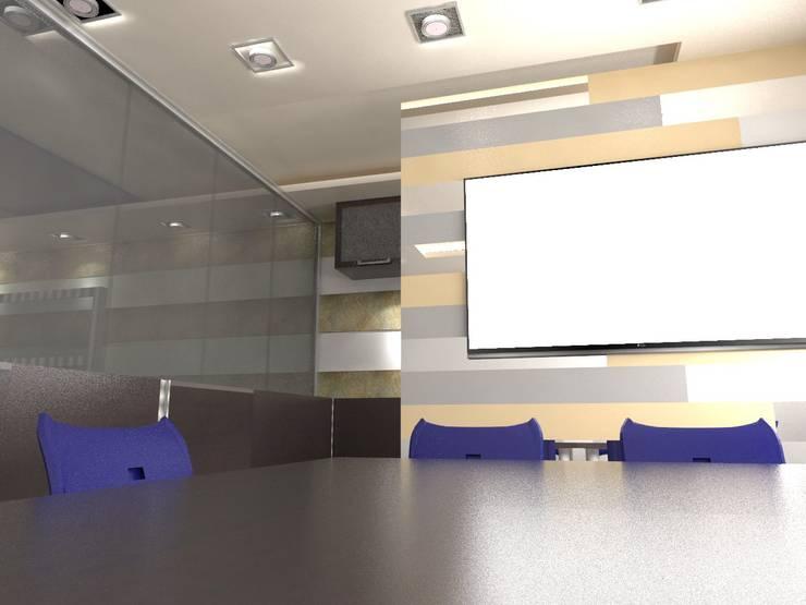 Diseño interior Oficina: Oficinas de estilo  por MAHO arquitectura y diseño, C.A