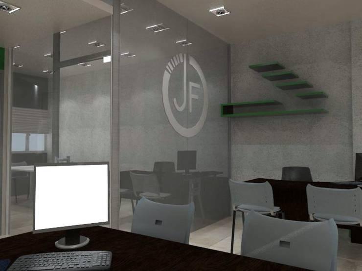 Diseño Interior Oficina : Oficinas de estilo  por MAHO arquitectura y diseño, C.A