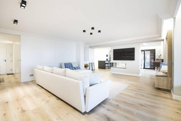 غرفة المعيشة تنفيذ Luxiform Iluminación