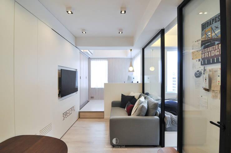 1:  Living room by Mister Glory Ltd, Minimalist