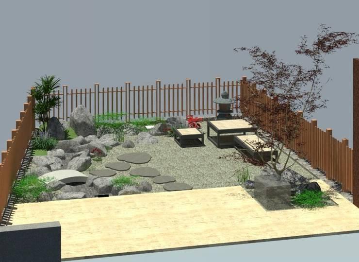 設計規劃:  禪風庭院 by 大地工房景觀公司