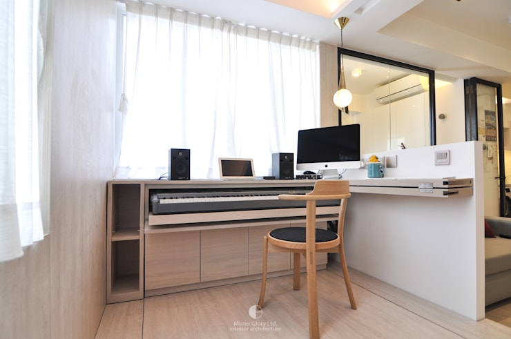 6:  Kitchen units by Mister Glory Ltd, Minimalist
