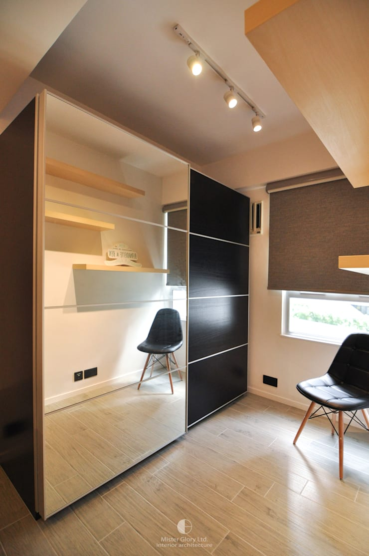 8: industrial Bedroom by Mister Glory Ltd
