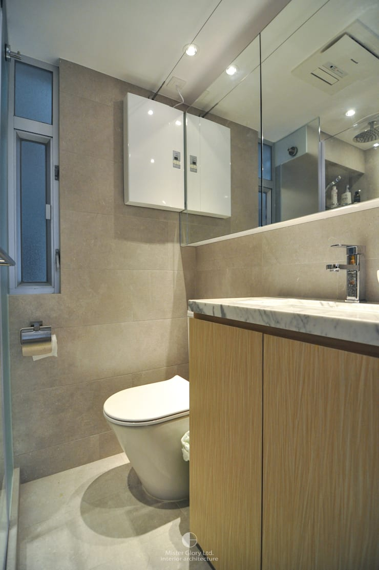 10: industrial Bathroom by Mister Glory Ltd