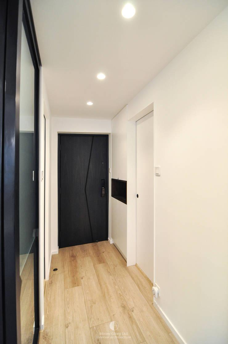 5:  Corridor & hallway by Mister Glory Ltd, Minimalist