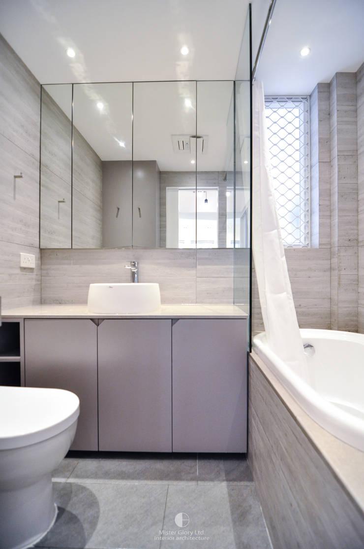 8:  Bathroom by Mister Glory Ltd, Minimalist