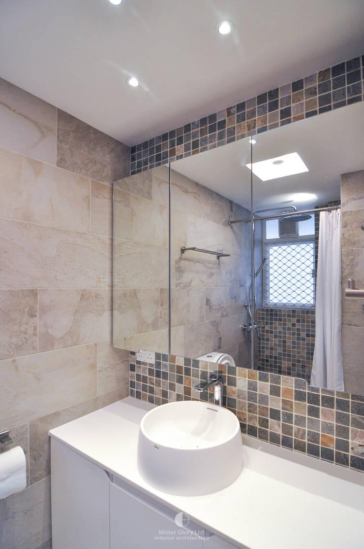 9:  Bathroom by Mister Glory Ltd, Minimalist