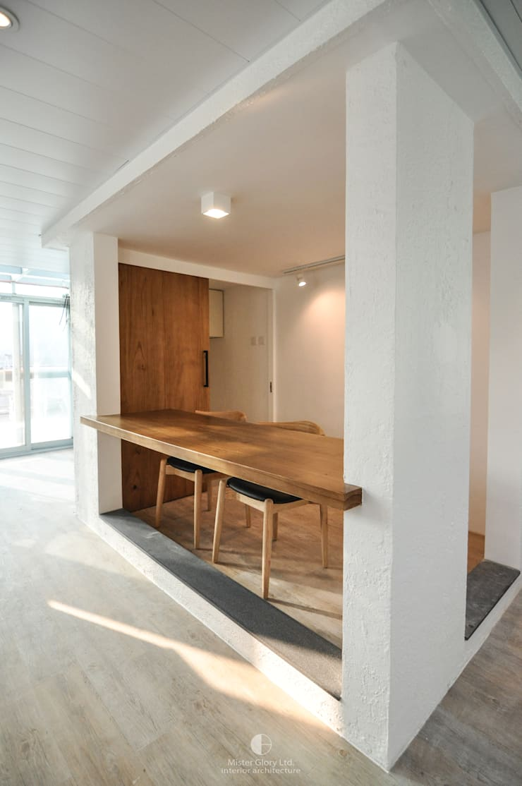 3:  Dining room by Mister Glory Ltd, Country
