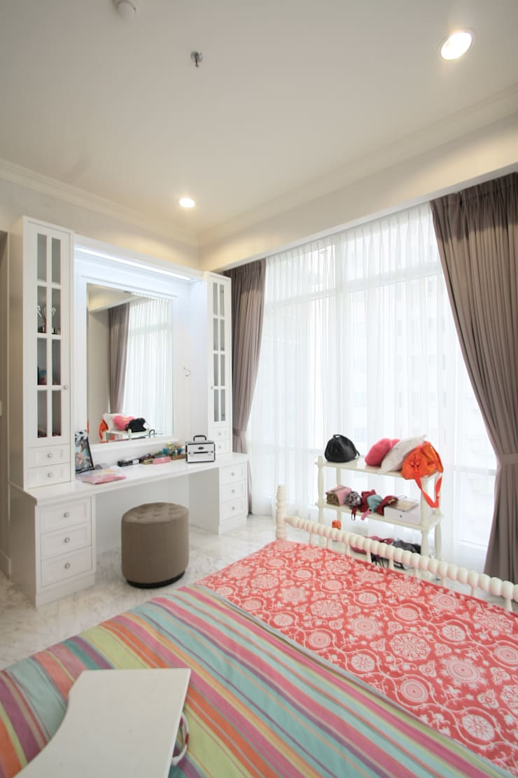 Kamar Tidur Anak:  Bedroom by Exxo interior