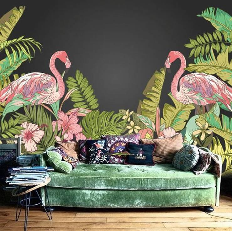 SK Concept Duvar Kağıtları  – Flamingo:  tarz Duvarlar