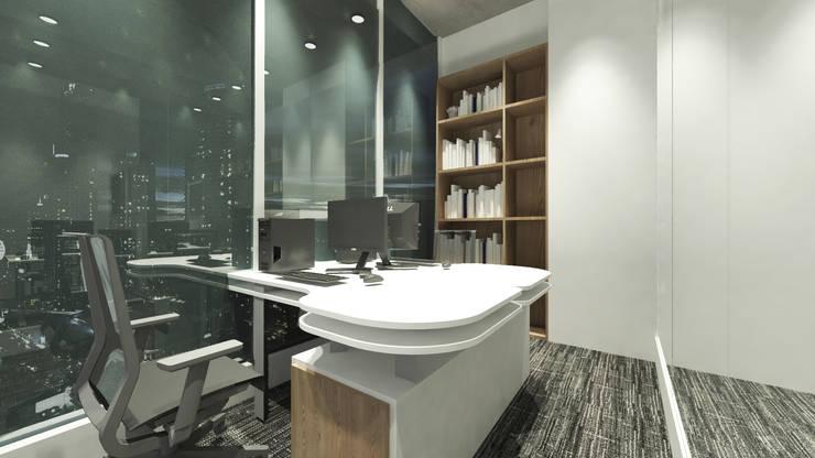 Director Room:  Ruang Kerja by ARAT Design