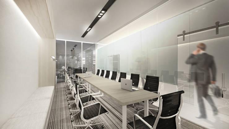 Meeting Room C:  Ruang Kerja by ARAT Design